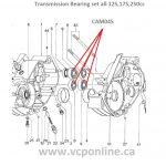 CAM045 complete set transmission Bearing vcponline.ca
