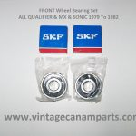 CAW004 FRONT Wheel bearing kit ALL QUALIFIER & MX & SONIC 1979 to 1982 vcponline