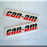 "CAD001 OEM tank sticker ""CAN-AM"" (set of 2)"