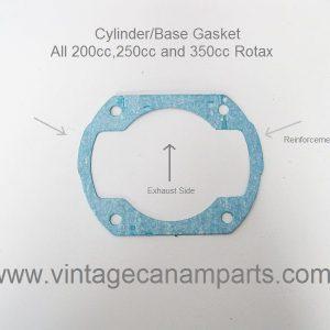 Cylinder base Gasket Rotax 250 - 350cc reinforcement