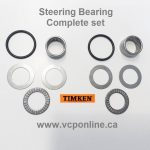 CAB012-C complete set steering can-am Rotax TNT,Qualifier