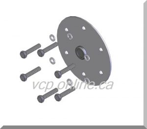 CAM030 screws and locks washers set of 6) for Spring retaining plate