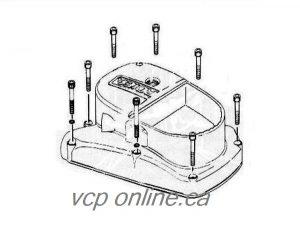 "CAM039 Socket set cap screw kit ""zinc plated"""