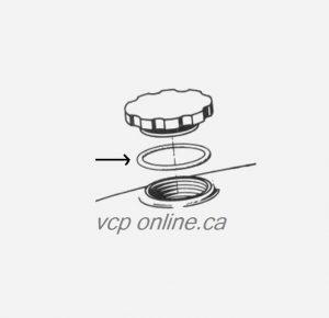 CAB025 Gas cap O'ring