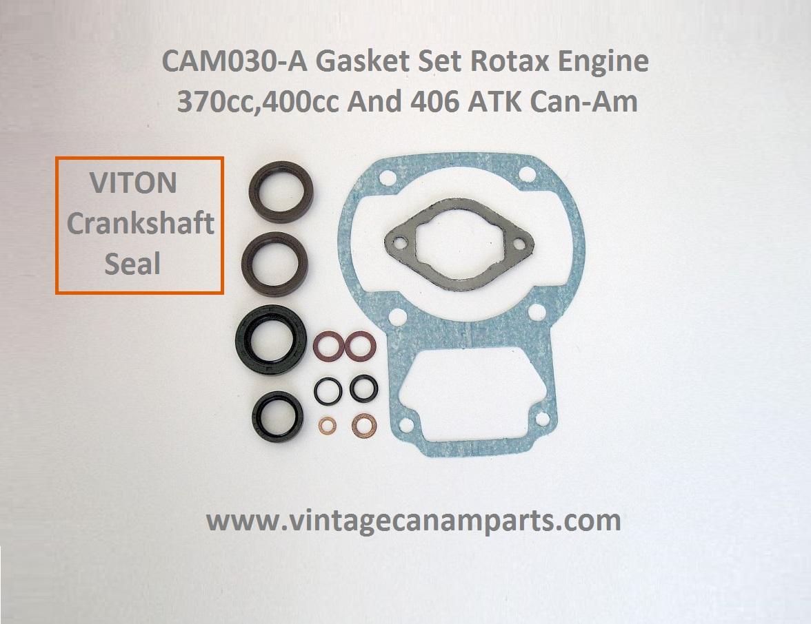 CAM030-A Gasket set Rotax engine 370cc,400cc and 406 ATK Can-am